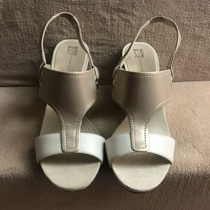Anne Klein wedge sandal